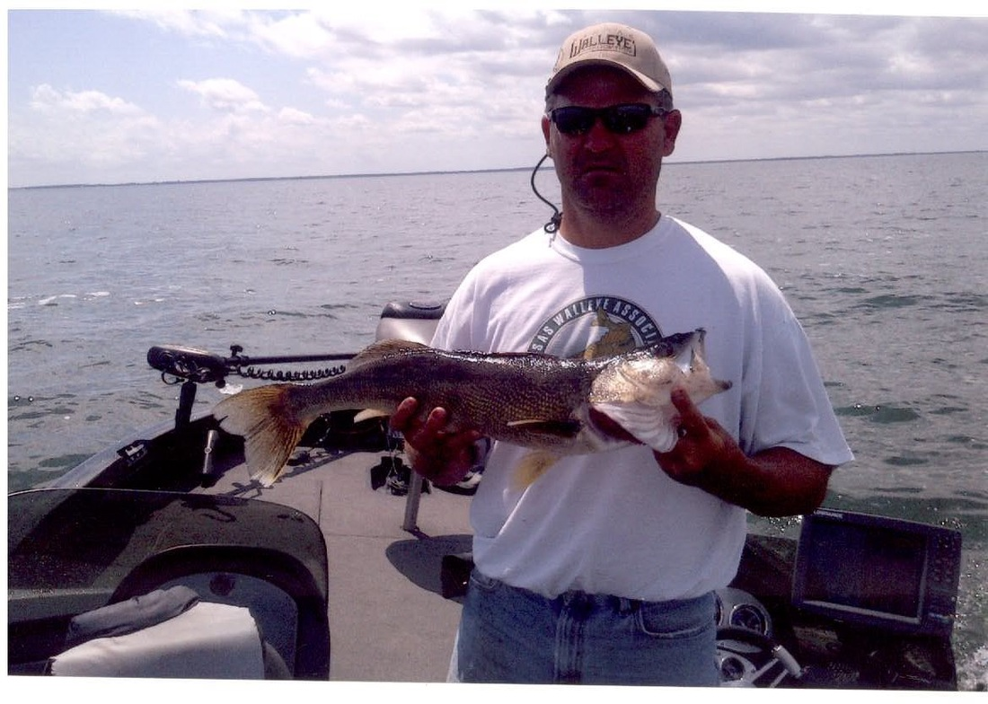 kansas lakes central kansas walleyes guide service